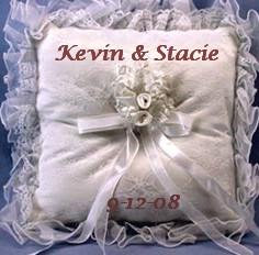 ring bearer pillow, bride pillow