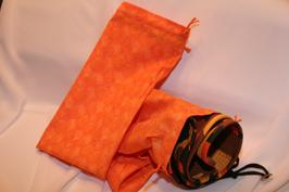 orange catch bags, resuable bags, Peggy Rahe